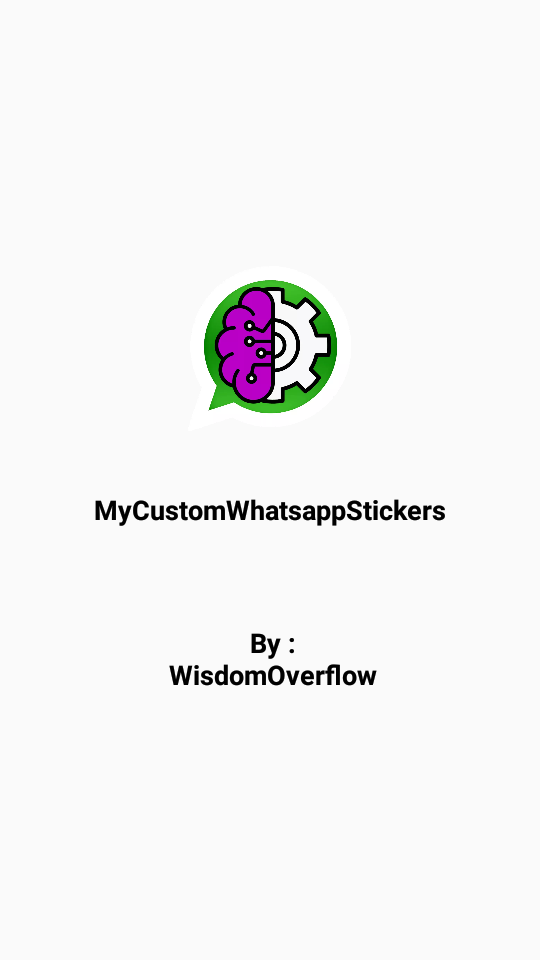 MyCustomWhatsappStickers Android App